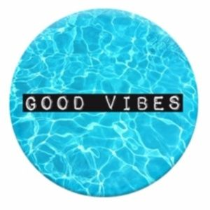 Accessories - Pop Socket Grip Stand phone tablet Good Vibes